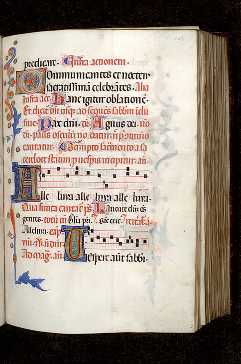 Paris, Bibl. Mazarine, ms. 0403, f. 103