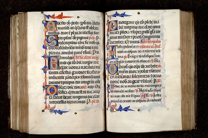 Paris, Bibl. Mazarine, ms. 0403, f. 247v-248