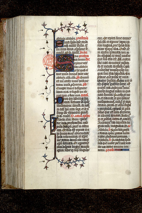 Paris, Bibl. Mazarine, ms. 0408, f. 125v