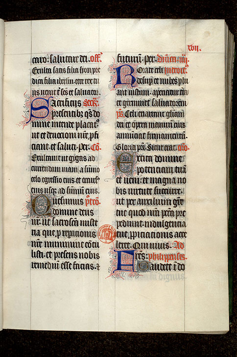 Paris, Bibl. Mazarine, ms. 0409, f. 017