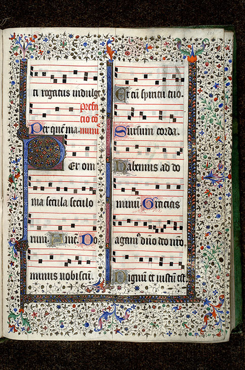 Paris, Bibl. Mazarine, ms. 0409, f. 221