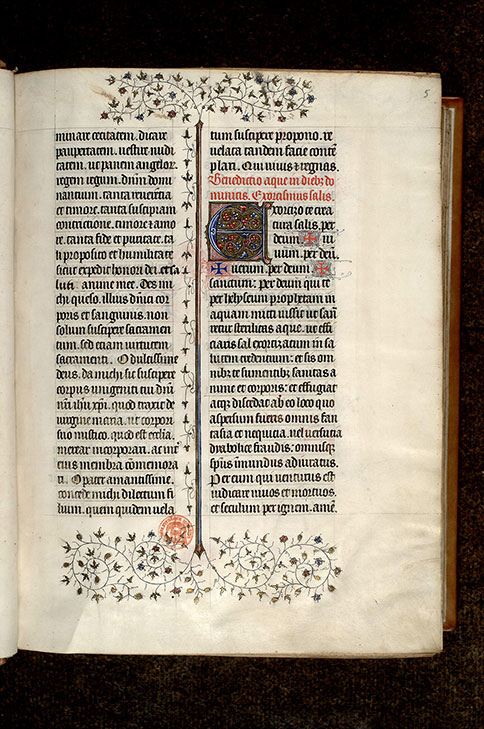 Paris, Bibl. Mazarine, ms. 0416, f. 005