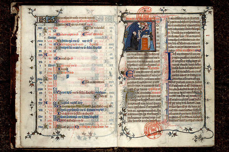 Paris, Bibl. Mazarine, ms. 0419, f. 006v-007
