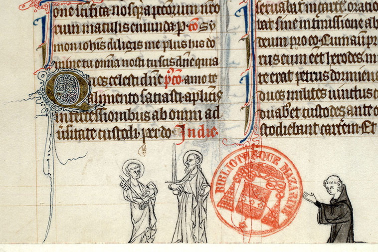 Paris, Bibl. Mazarine, ms. 0419, f. 170v