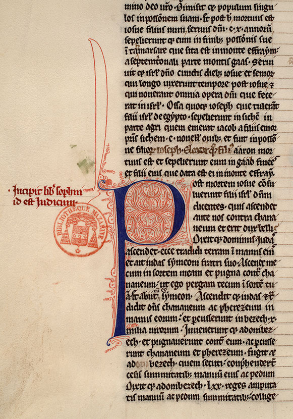 Paris, Bibl. Mazarine, ms. 0006, f. 090v
