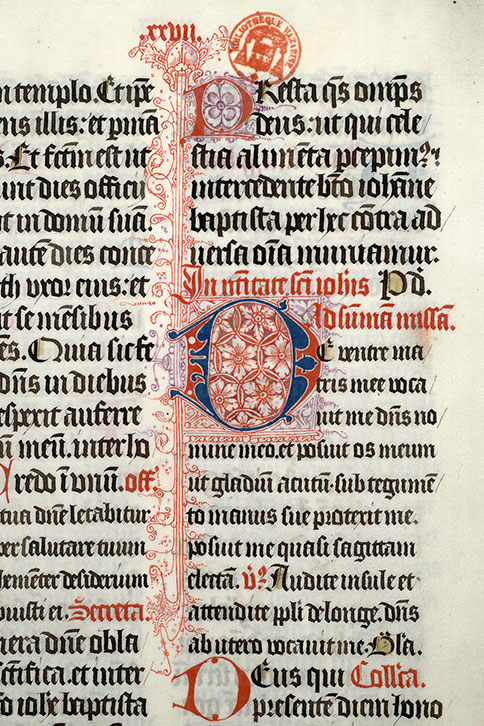 Paris, Bibl. Mazarine, ms. 0423, f. 112