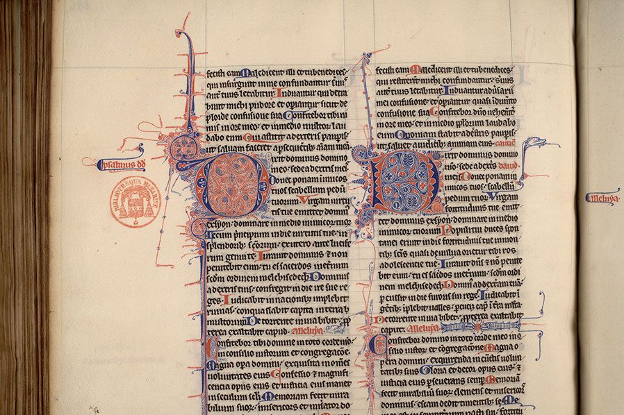 Paris, Bibl. Mazarine, ms. 0006, f. 286v