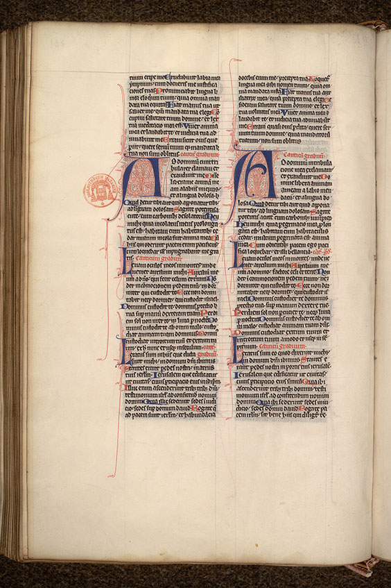 Paris, Bibl. Mazarine, ms. 0006, f. 291v