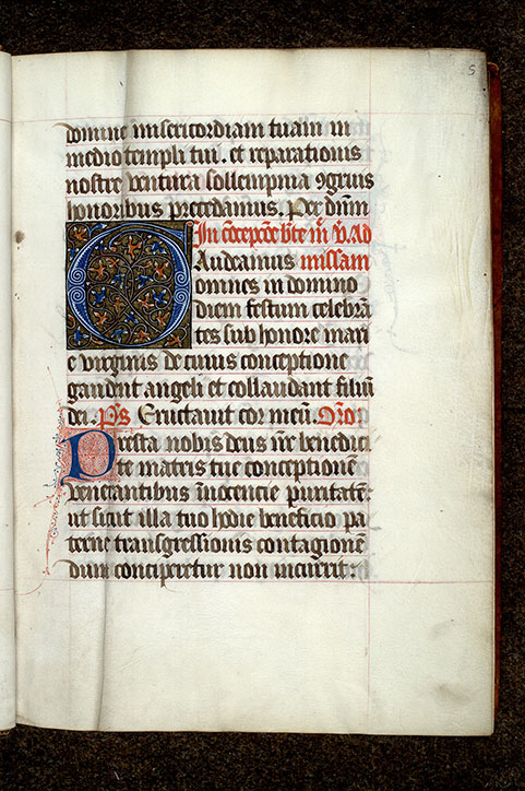 Paris, Bibl. Mazarine, ms. 0429, p. 005