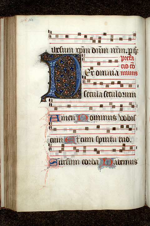Paris, Bibl. Mazarine, ms. 0429, p. 164
