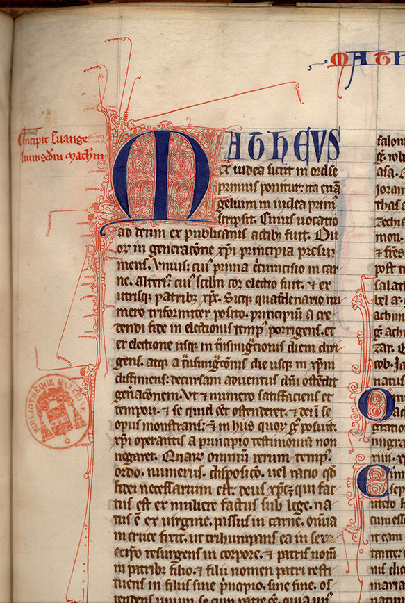 Paris, Bibl. Mazarine, ms. 0006, f. 430