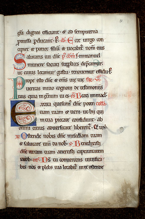 Paris, Bibl. Mazarine, ms. 0431, f. 010