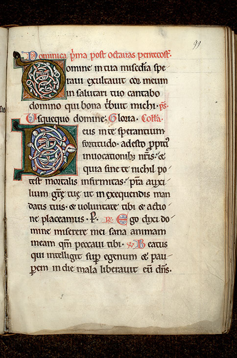 Paris, Bibl. Mazarine, ms. 0431, f. 099