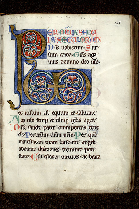 Paris, Bibl. Mazarine, ms. 0431, f. 124