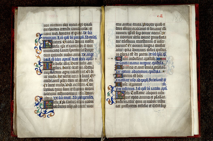 Paris, Bibl. Mazarine, ms. 0437, f. 179v-180