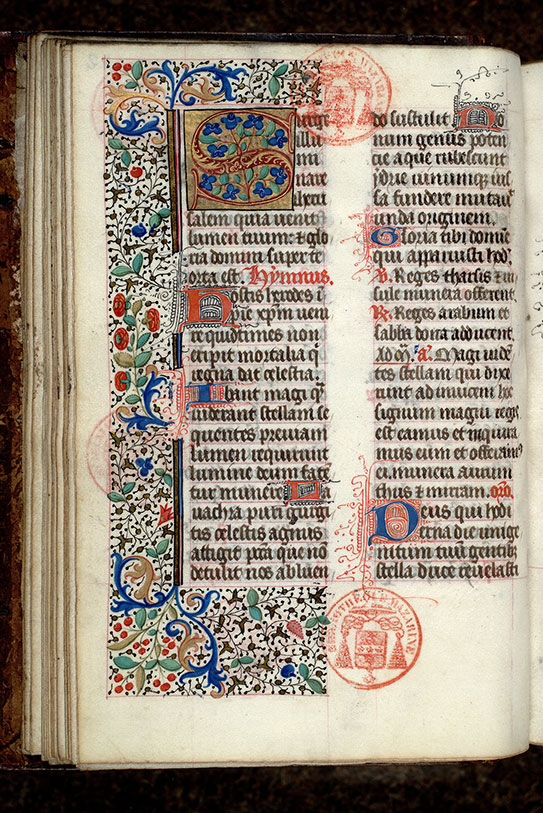 Paris, Bibl. Mazarine, ms. 0443, f. 042v