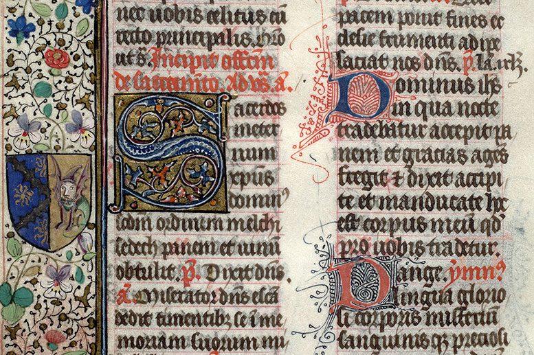 Paris, Bibl. Mazarine, ms. 0443, f. 106v