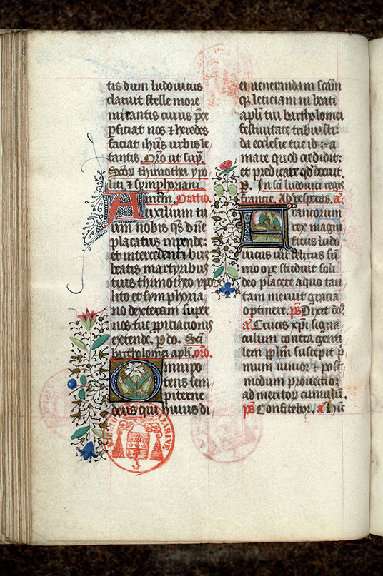 Paris, Bibl. Mazarine, ms. 0443, f. 305v