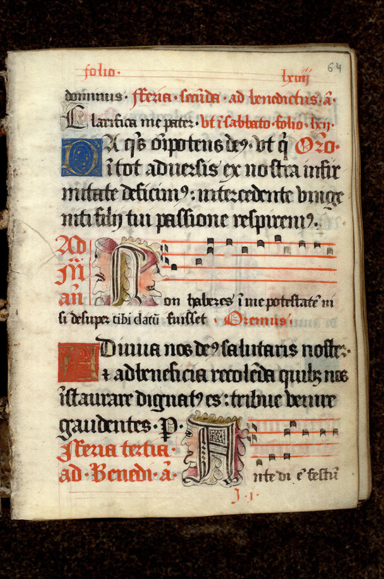 Paris, Bibl. Mazarine, ms. 0445, f. 064