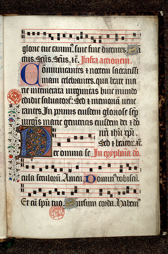 Paris, Bibl. Mazarine, ms. 0446, f. 002
