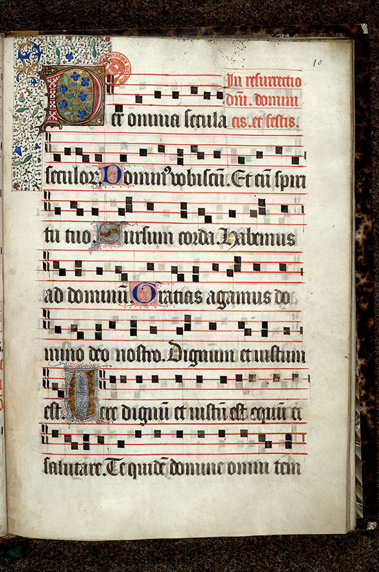 Paris, Bibl. Mazarine, ms. 0446, f. 010