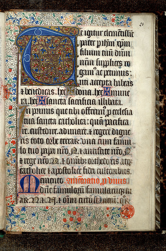 Paris, Bibl. Mazarine, ms. 0446, f. 028
