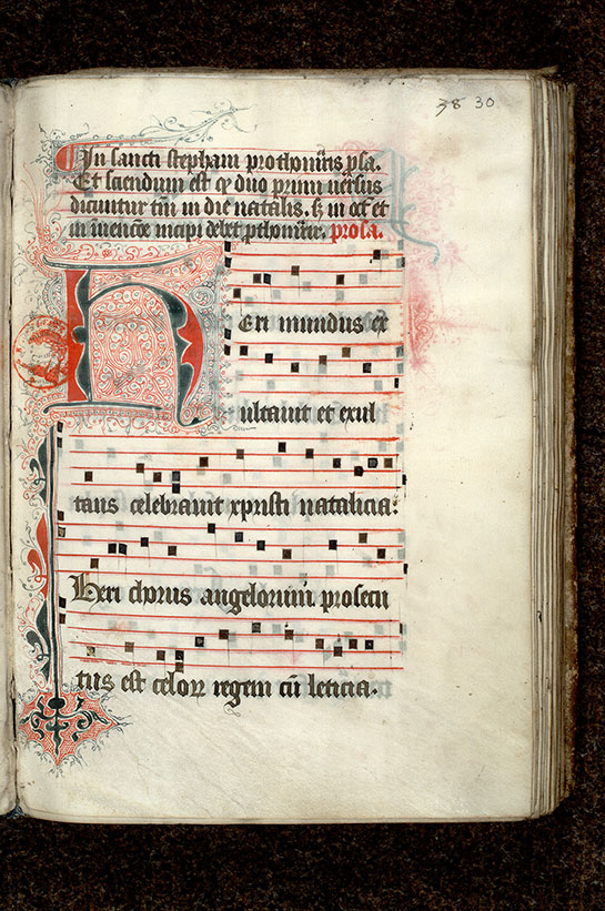 Paris, Bibl. Mazarine, ms. 0447, f. 030