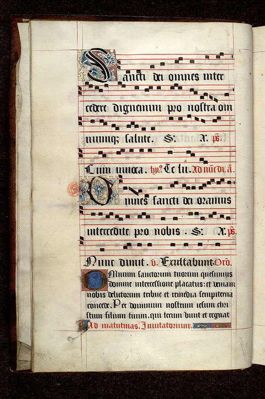 Paris, Bibl. Mazarine, ms. 0465, f. 009v