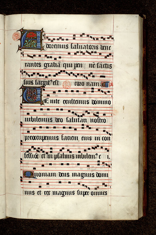 Paris, Bibl. Mazarine, ms. 0465, f. 010