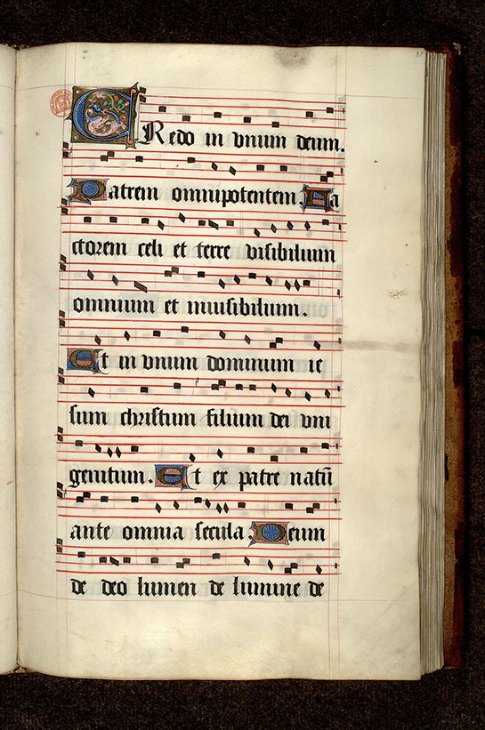 Paris, Bibl. Mazarine, ms. 0465, f. 031
