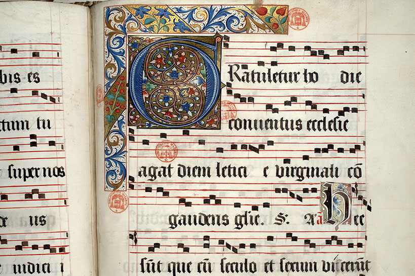 Paris, Bibl. Mazarine, ms. 0465, f. 057