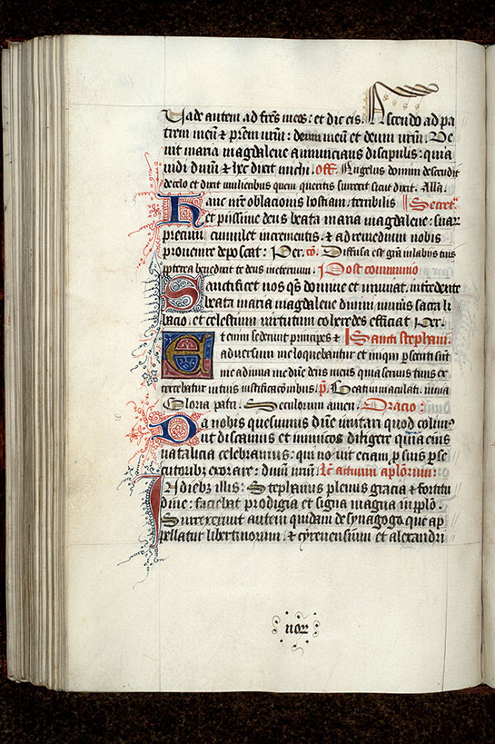 Paris, Bibl. Mazarine, ms. 0527, f. 144v