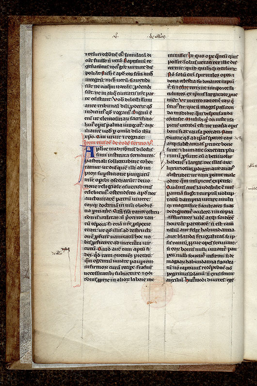 Paris, Bibl. Mazarine, ms. 0587, f. 006v