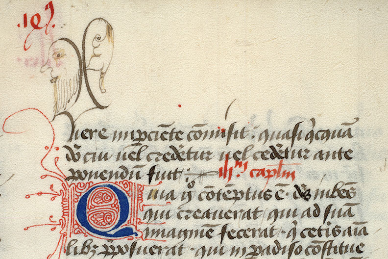 Paris, Bibl. Mazarine, ms. 0592, f. 164