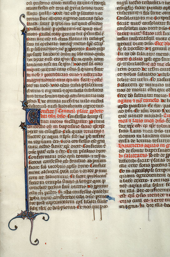Paris, Bibl. Mazarine, ms. 0601, f. 186