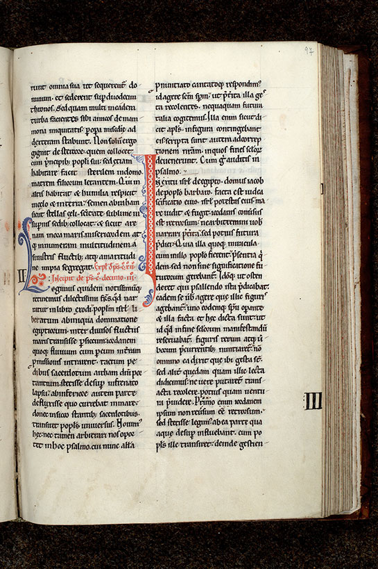 Paris, Bibl. Mazarine, ms. 0602, f. 097