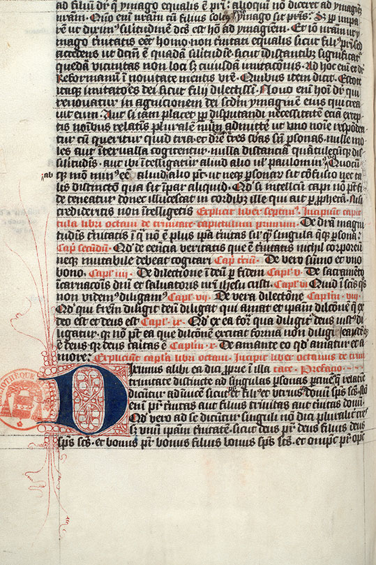 Paris, Bibl. Mazarine, ms. 0610, f. 061v