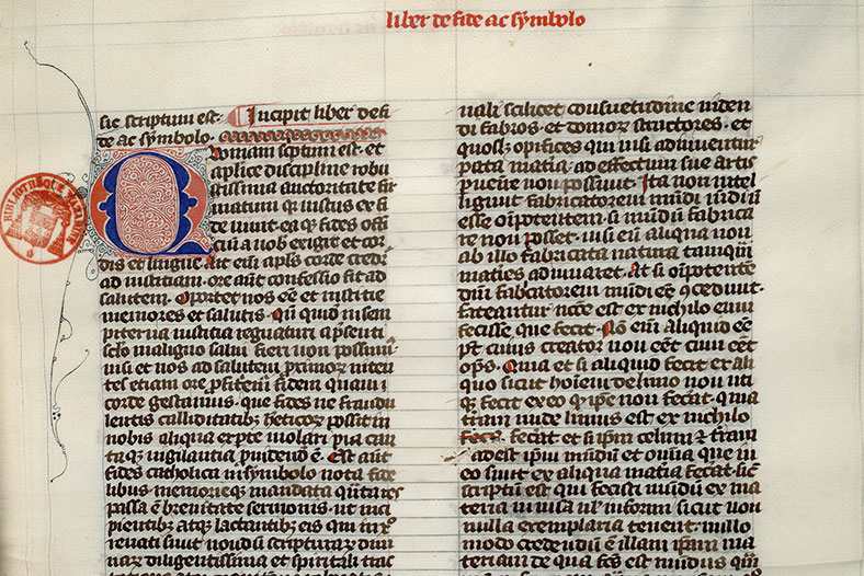 Paris, Bibl. Mazarine, ms. 0636, f. 020