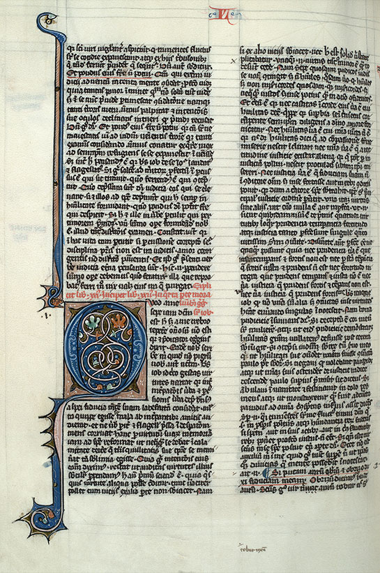 Paris, Bibl. Mazarine, ms. 0664, f. 199v