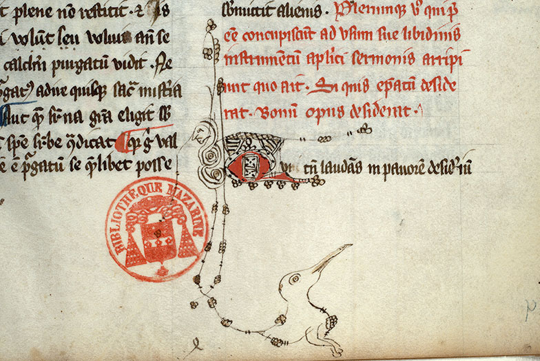Paris, Bibl. Mazarine, ms. 0676, f. 004