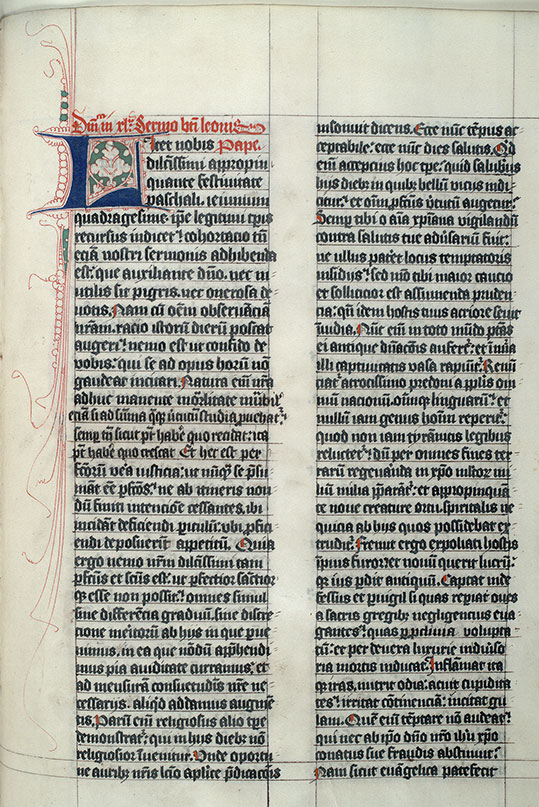 Paris, Bibl. Mazarine, ms. 0695, f. 114