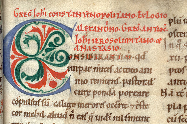 Paris, Bibl. Mazarine, ms. 0700, f. 005