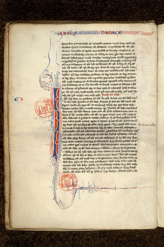 Paris, Bibl. Mazarine, ms. 0711, f. 009v