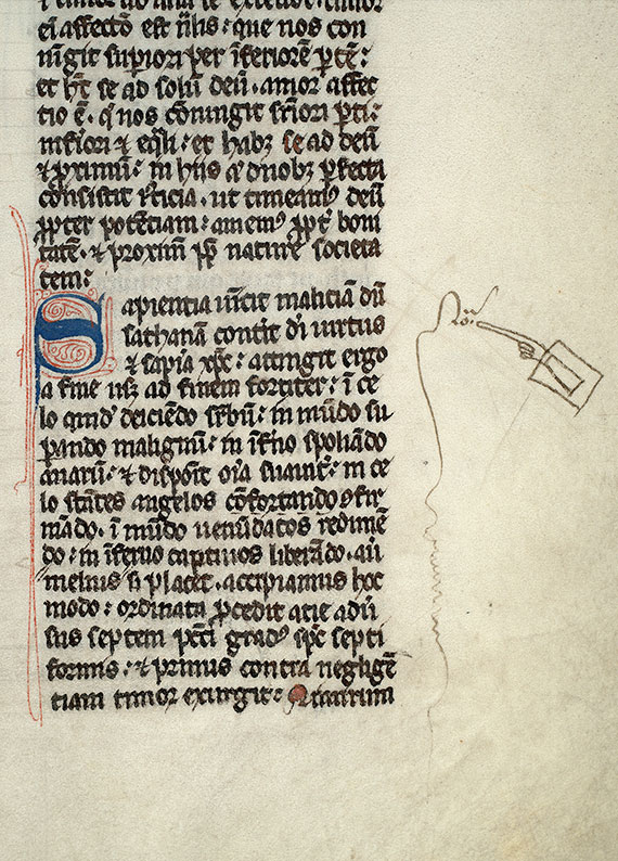 Paris, Bibl. Mazarine, ms. 0734, f. 057