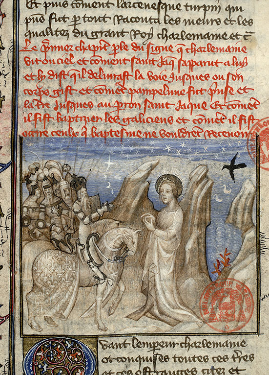 Paris, Bibl. Mazarine, ms. 2028, f. 115