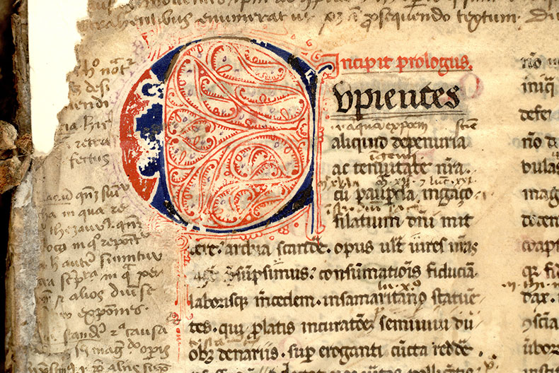 Paris, Bibl. Mazarine, ms. 0761, f. 001