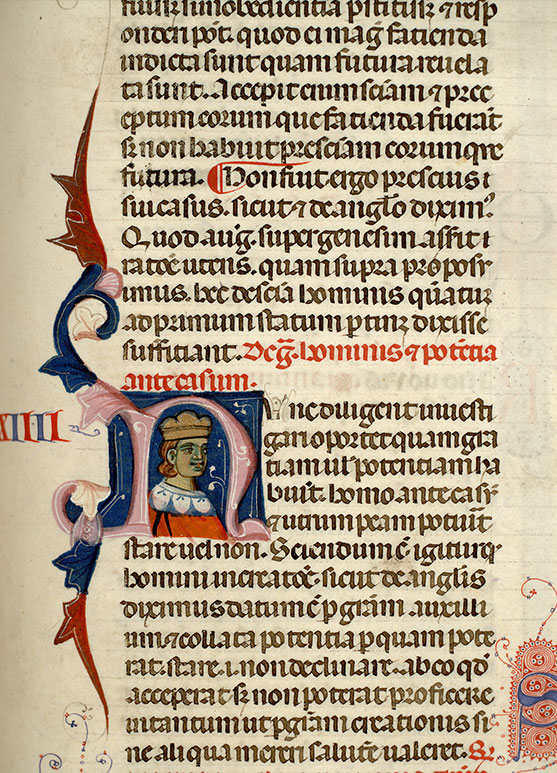 Paris, Bibl. Mazarine, ms. 0766, f. 100