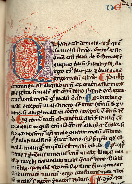 Paris, Bibl. Mazarine, ms. 0805, f. 205