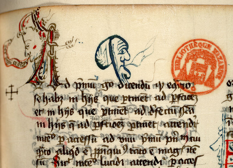 Paris, Bibl. Mazarine, ms. 0823, f. 049