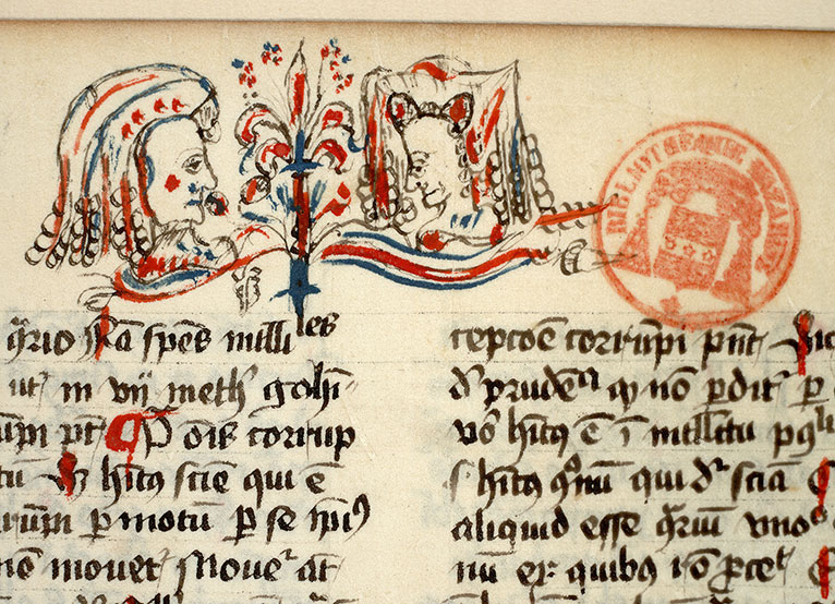 Paris, Bibl. Mazarine, ms. 0823, f. 099